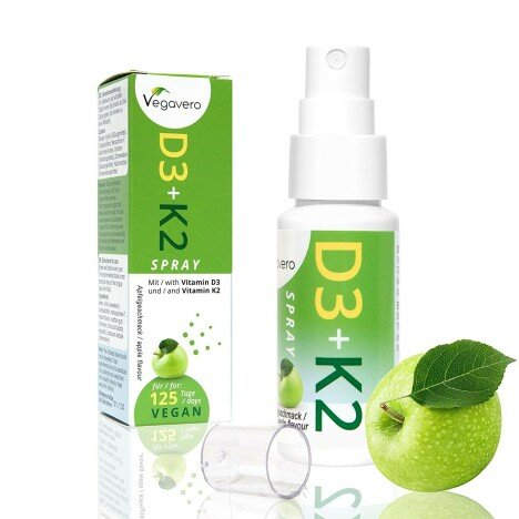 Vitamina D3 K2 (MK-7) Spray   Doar un spray pe zi, 4 luni